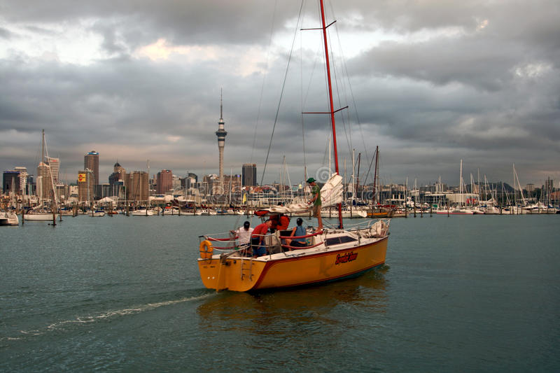 Auckland, Nuova Zelanda immagini stock