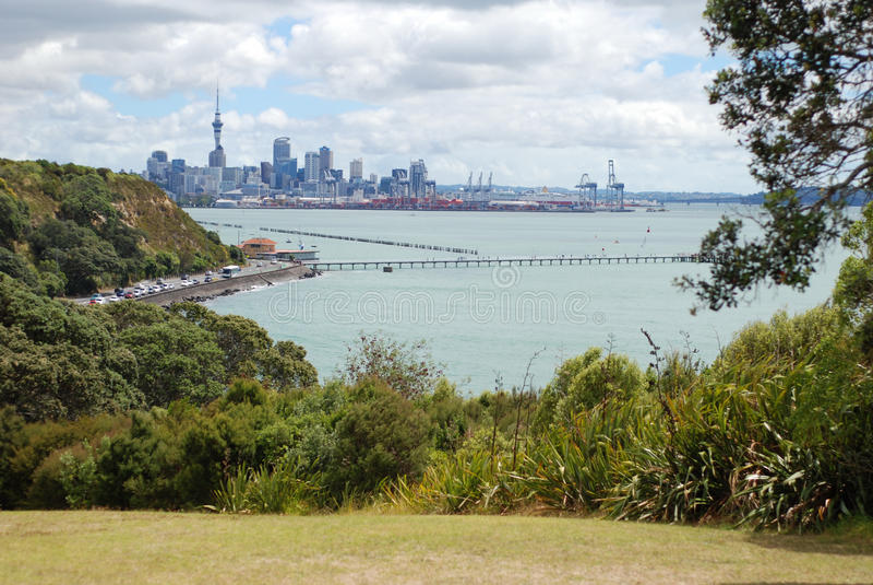 Auckland, Nuova Zelanda immagine stock libera da diritti