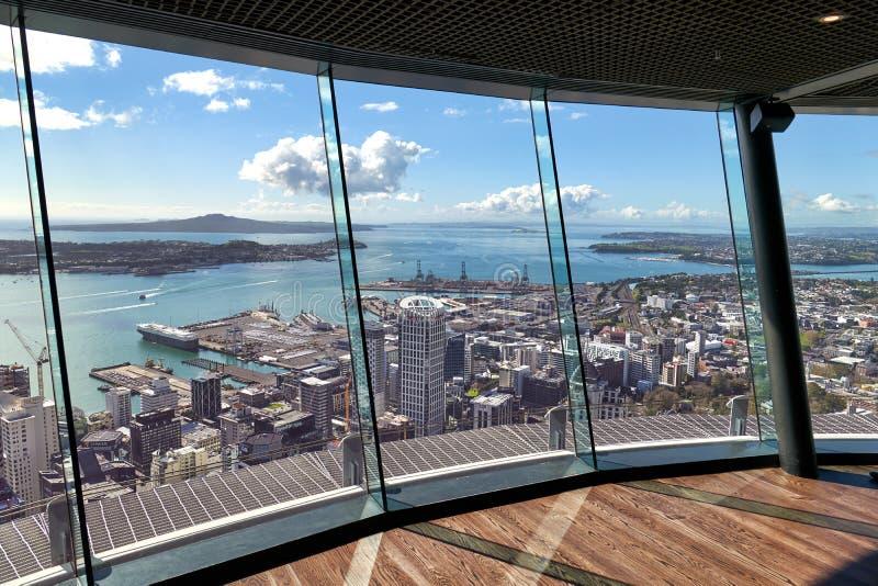 Auckland Nya Zeeland arkivbilder