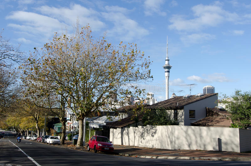 Auckland - Ponsonby photographie stock