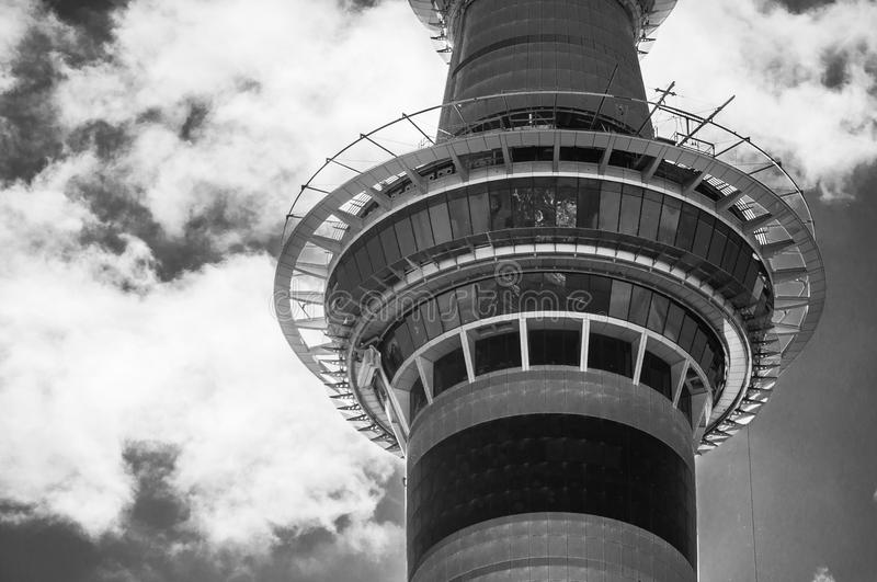 Auckland Skytower photographie stock