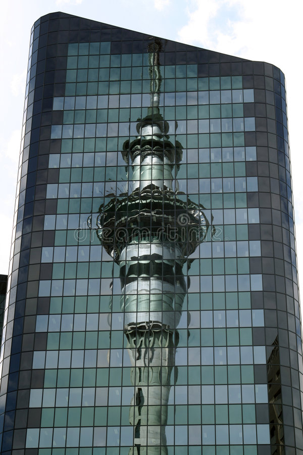 Auckland tower royalty free stock photography