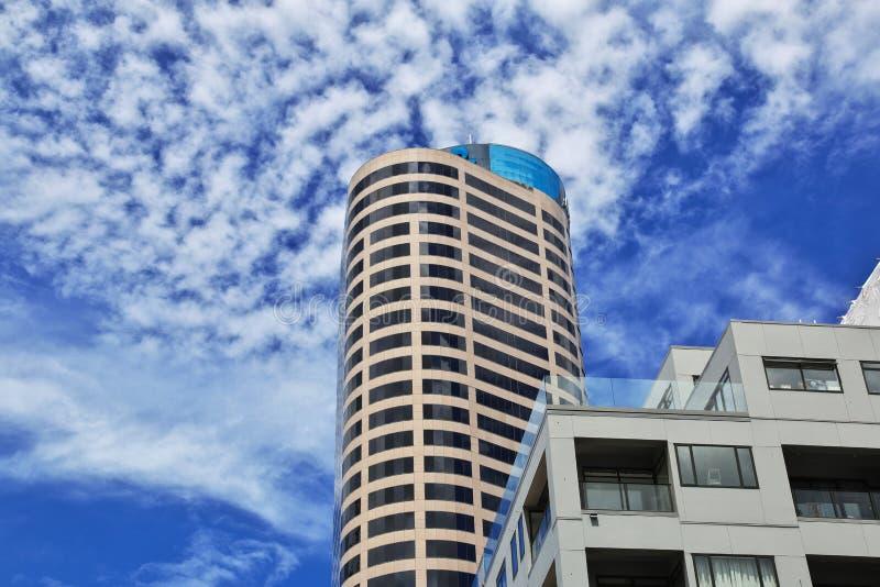 Auckland ? uma cidade bonita em Nova Zel?ndia fotos de stock royalty free
