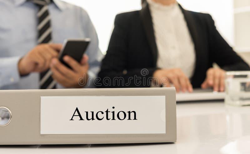 auction stockfoto