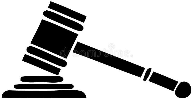 Download Auction hammer stock illustration. Image of jail, innocence - 10868825