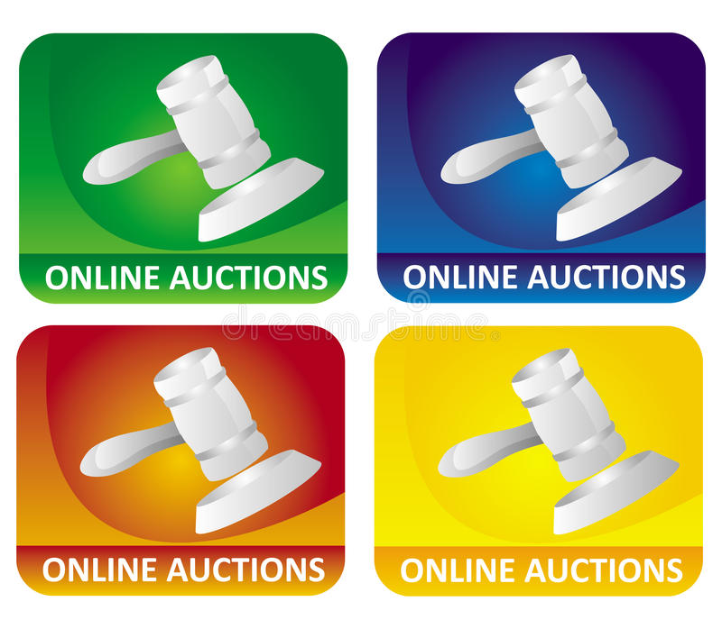 Download Auction icons stock vector. Illustration of counsel, market - 9960840