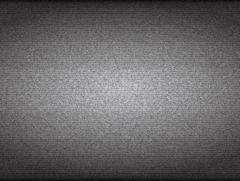 Aucun écran du signal TV Vecteur grenu de bruit illustration de vecteur