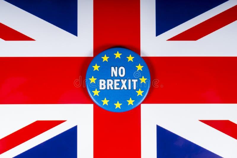 Aucun Brexit Royaume-Uni photos libres de droits