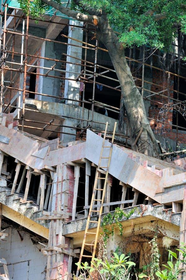 Aucun Fonctionnement Professionnel De Construction Image stock