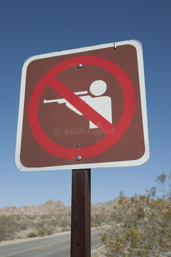 Aucun signe de tir photos libres de droits