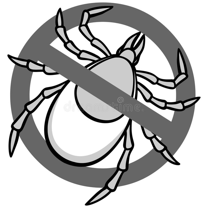 Aucun Tick Sign illustration libre de droits