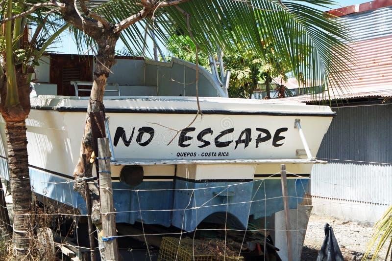 Aucune évasion Costa Rica images libres de droits