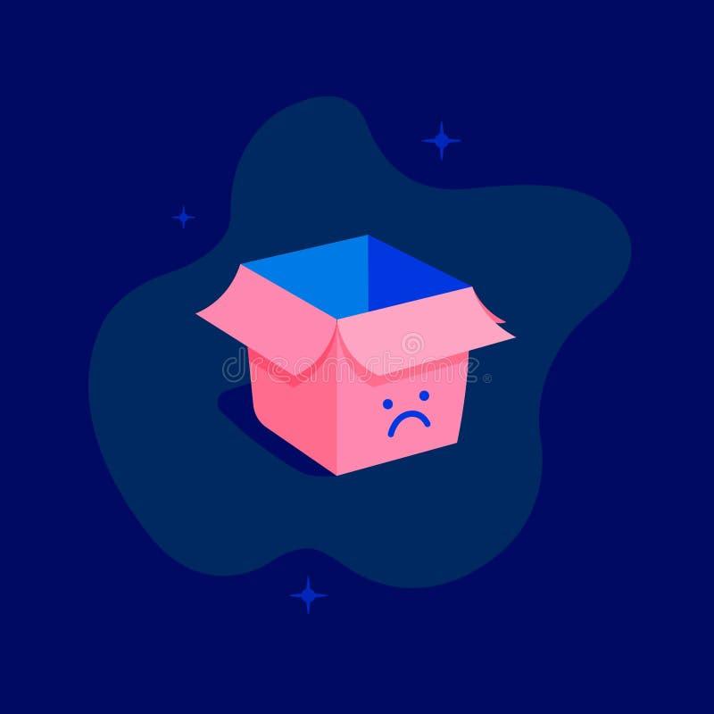 Aucune icône de serveur Illustration d'art illustration stock
