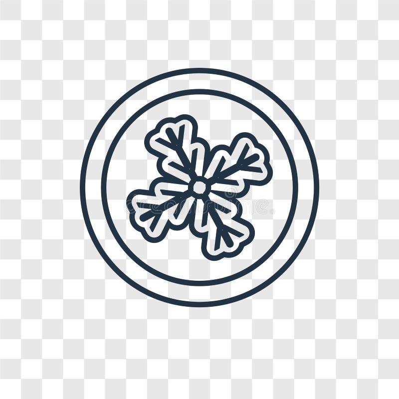 Aucune icône linéaire de cri de vecteur de concept d'isolement sur b transparent illustration de vecteur