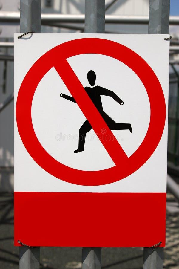 Aucune infraction photo libre de droits