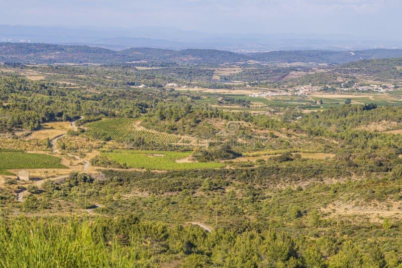 Aude region, Frankrike royaltyfri fotografi