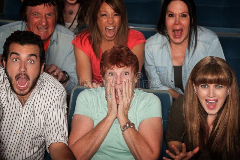 Audiência choc imagens de stock royalty free