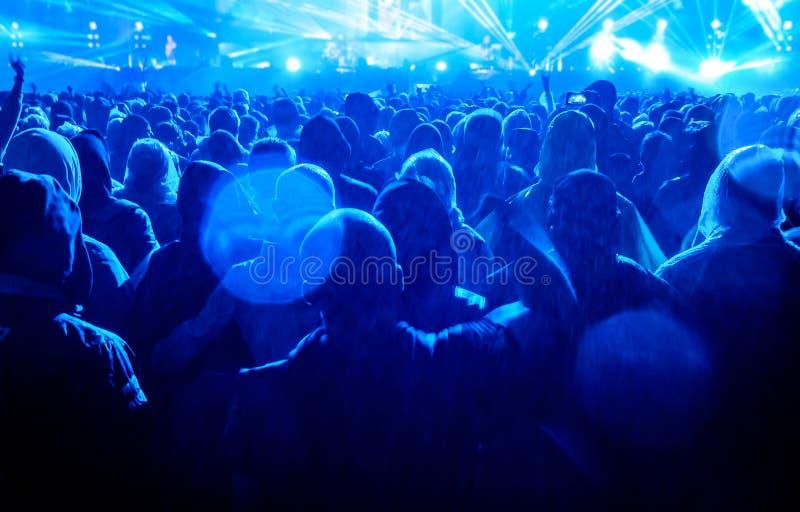 Audiência do concerto imagem de stock royalty free