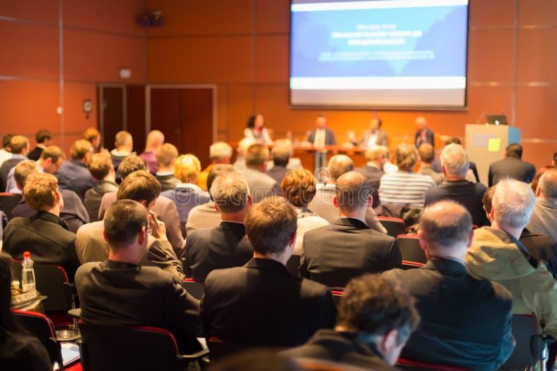 Audiência na sala de conferências fotografia de stock royalty free
