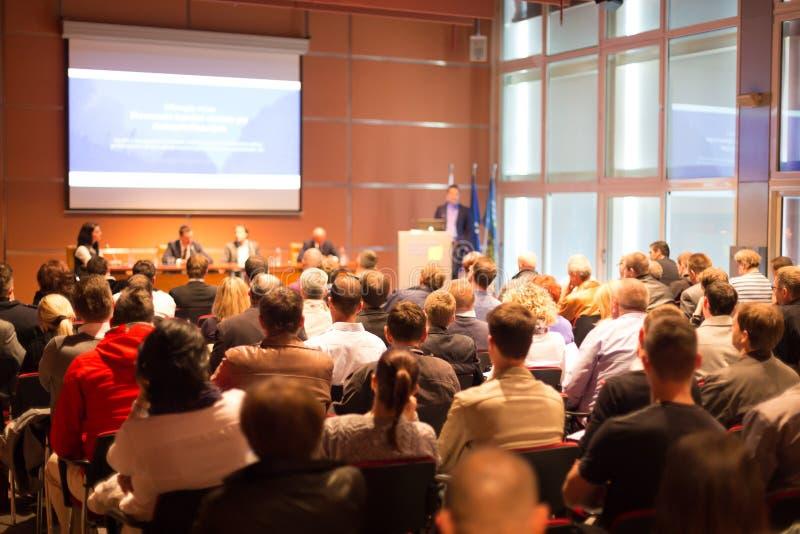 Audiência na sala de conferências fotos de stock royalty free