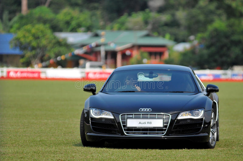 Audi at 2011 FIP World Championship stock photo