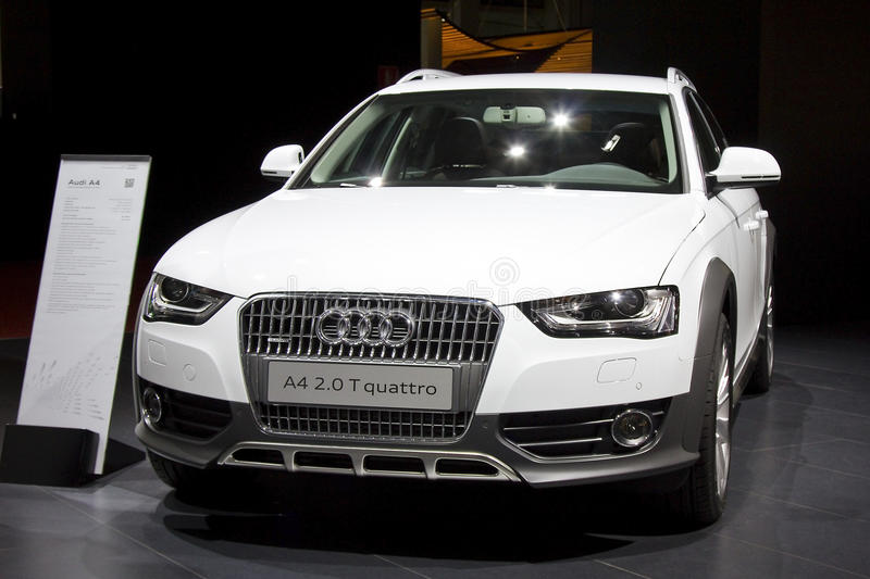 Audi A4 images libres de droits