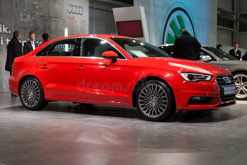 Audi a3 royalty-vrije stock foto's