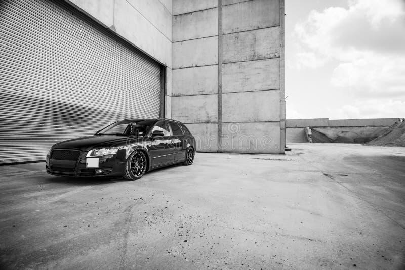 Audi A4 foto de stock