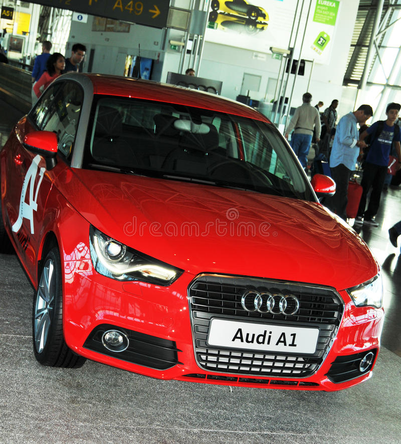 Download Audi A1 editorial image. Image of cars, automobile, circle - 15874480