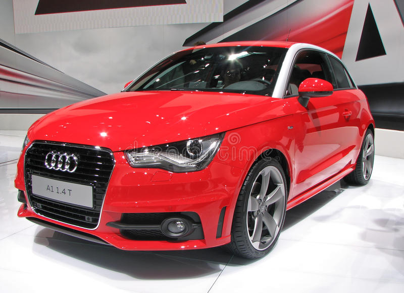 Audi A1 Editorial Photography