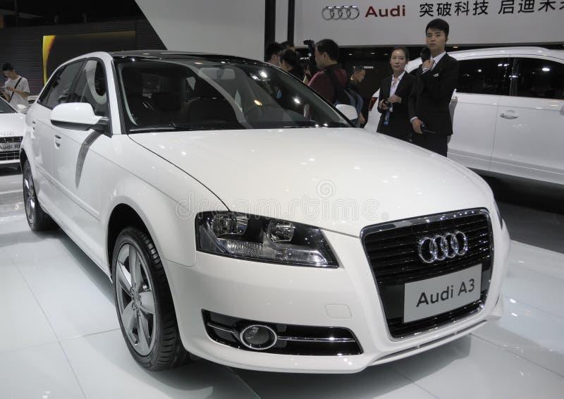 Audi A3 royalty-vrije stock afbeeldingen