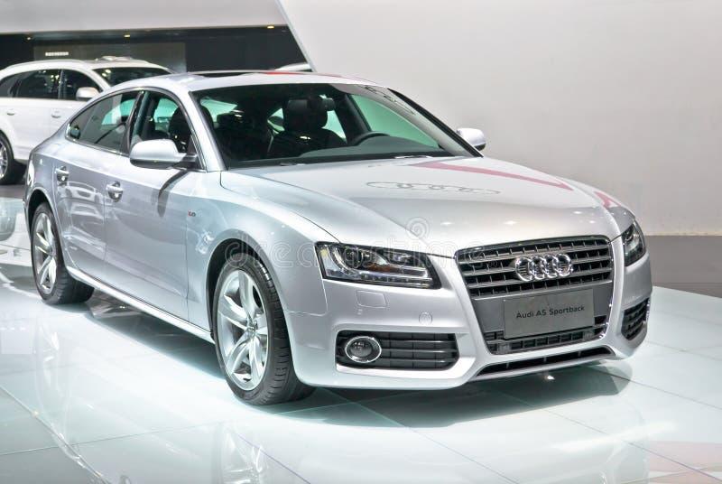Audi A5 sportback stock photography