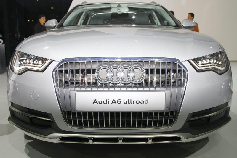 Audi A6 Allroad royalty free stock photo