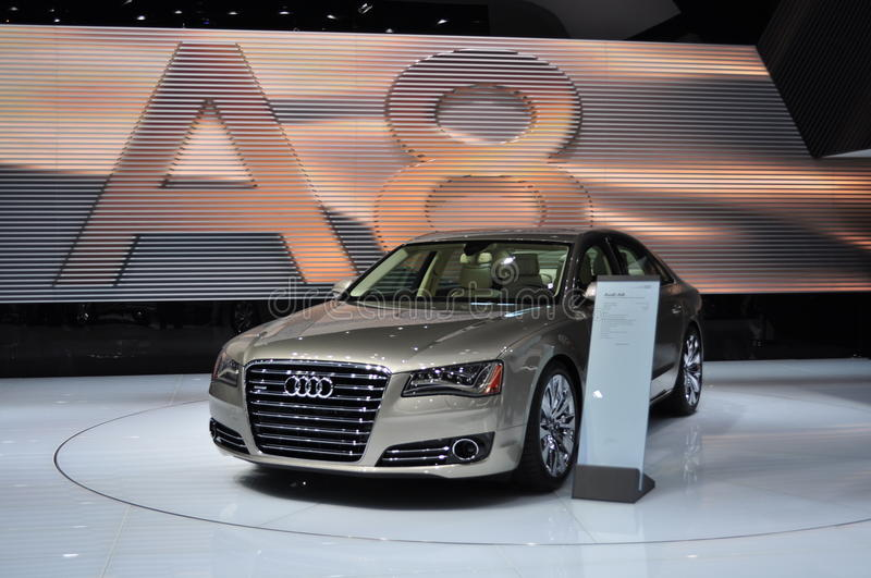 Audi A8 foto de stock royalty free