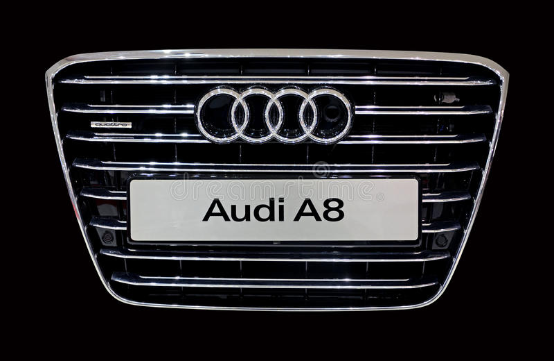 Audi A8 stockfoto