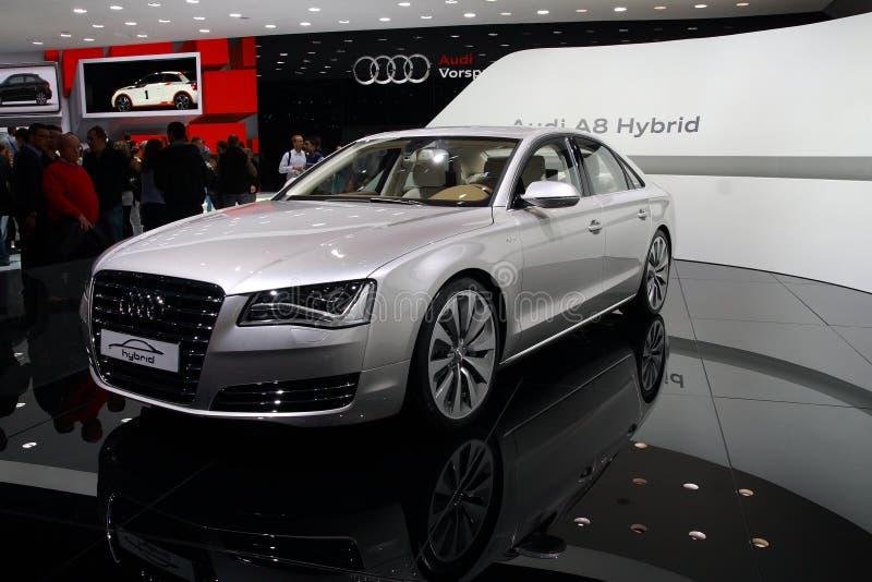 Audi A8 Mischling stockbilder