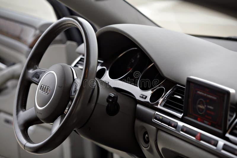 Audi A8 Vorstand stockfoto
