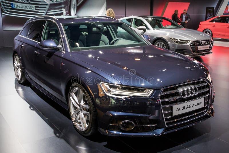 Audi A6 Avant bil arkivfoton