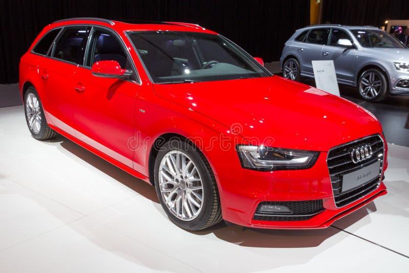 Audi A4 Avant car stock photography