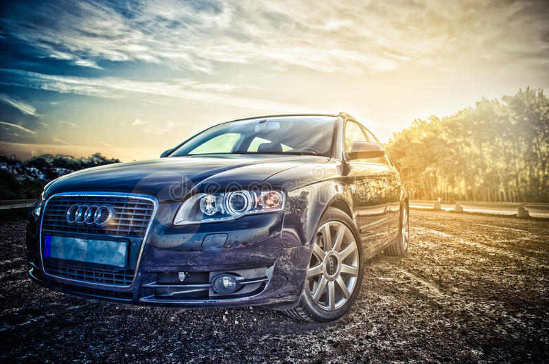 Audi A4 avant royalty free stock images