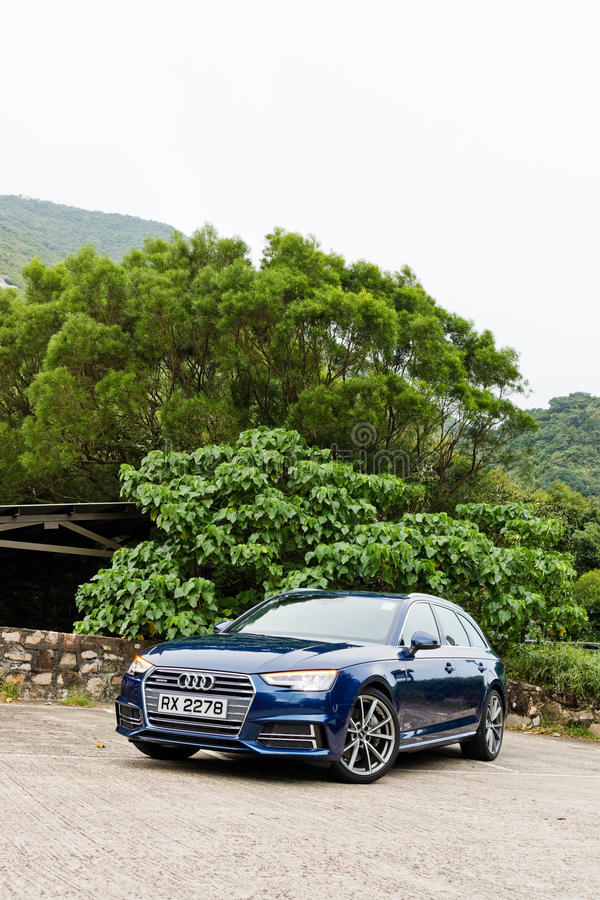 Audi A4 Avant 45 TFSI quattro Drive Day royalty free stock photography