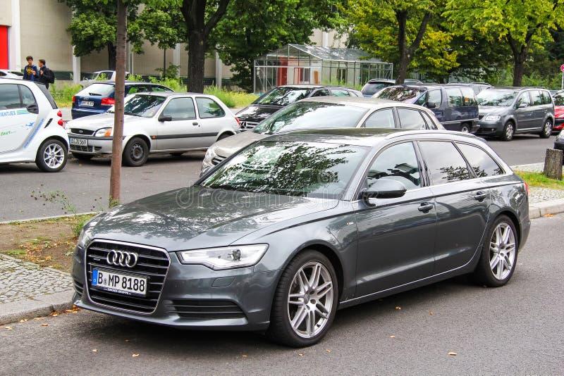 Audi a6 imagens de stock
