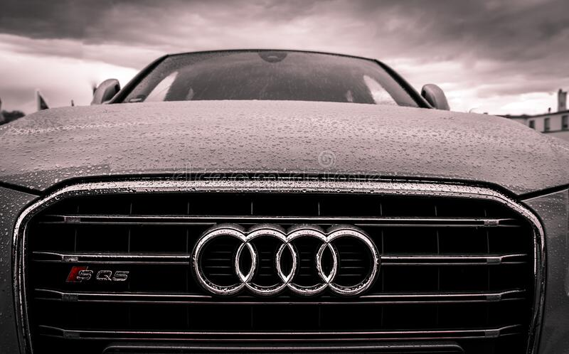 Audi Black And Chrome Grille Free Public Domain Cc0 Image