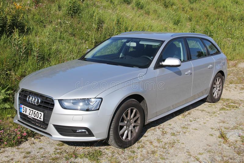 Audi Car royaltyfri foto