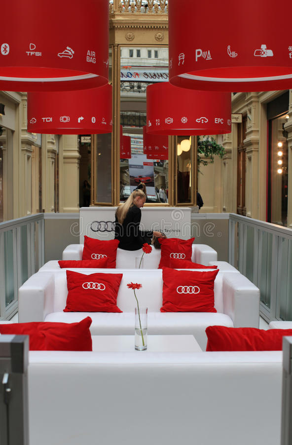Download Audi Car Exhibition In GUM, Moscow Editorial Stock Photo - Image: 15949133