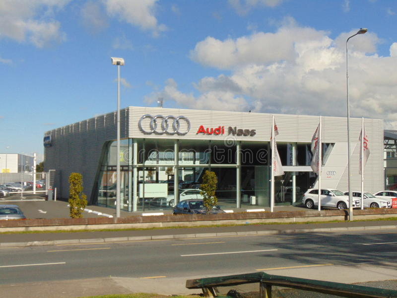 Audi Car Store Naas fotos de stock royalty free