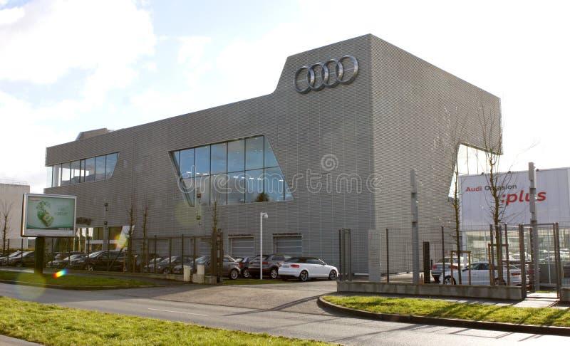 AUDI Company image stock