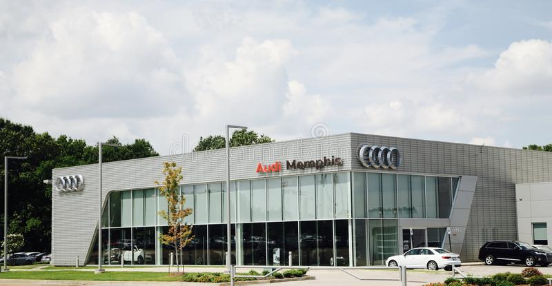 Audi de Memphis imagens de stock