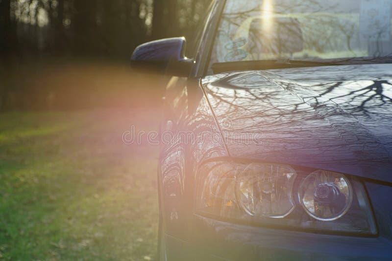 Audi do carro foto de stock