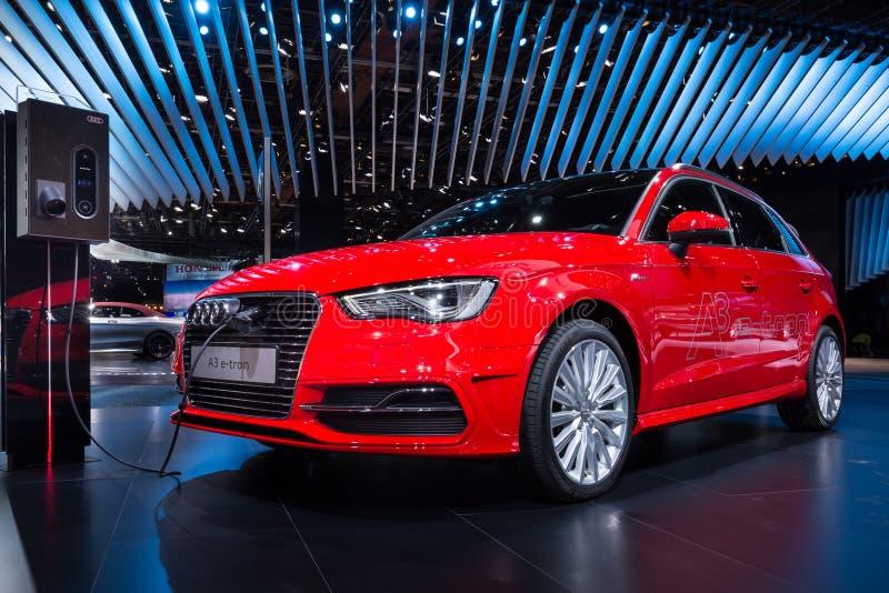2016 Audi A3 e-Tron royalty-vrije stock foto's